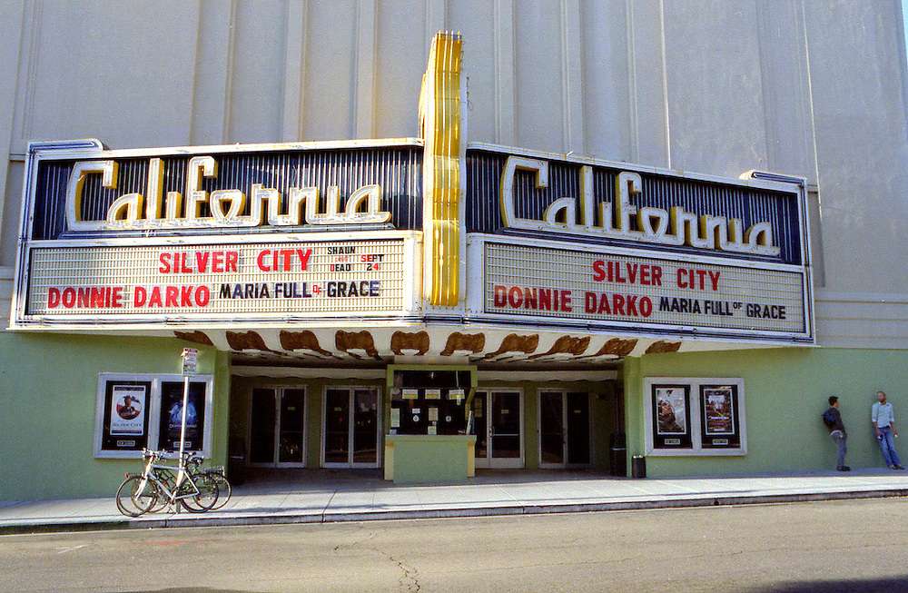 Movie theater, downtown Berkeley