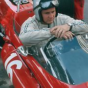 Formula 1: Bruce McLaren before Grand Prix of Monaco, 1967.