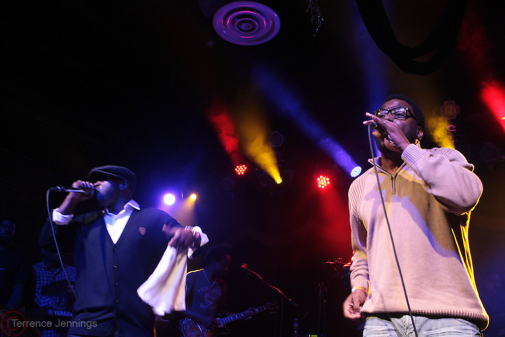 New York, NY- December 15 - l to r: Black Thought of The ROOTS! and  Big Daddy Kane perform at the Okayplayer's 5th Annual Holiday JAM w/ The ROOTS! held at Brooklyn Bowl on December 15, 2011 in Brooklyn, New York City. Photo Credit: Terrence Jennings