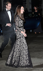 DEC 11 2013 The Duke and Duchess of Cambridge at The Natural History Museum