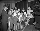 1959 - Gael Linn singing competition and concert at Dungannon, Co. Tyrone