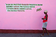 SOCIALIST. Adelante! Slowly. Cuba, 2015