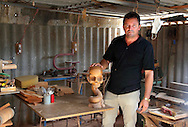 Craftsman in San Cristobal, Artemisa, Cuba.