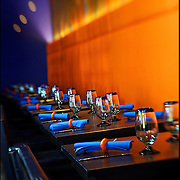 Interior photos of La Sandia restaurant in Denver, Co. opening in Northfield at Stapleton in late October 2006. Chef Richard Sandoval, Bon Appetite?s 2006 Restaurateur of the Year, operates a number of restaurants in the Denver area. His newest restaurant, La Sandia is the ideal spot for genuine and inspired Mexican food in a modern setting..(Photo by Marc Piscotty/La Sandia).