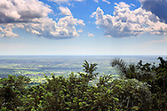 The view to Candelaria from Castillo Las Nubes, Soroa, Artemisa, Cuba.
