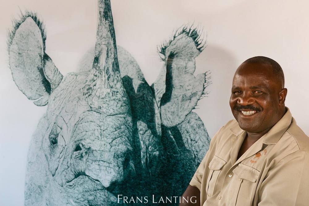 Simson Uri-Khob, Research Director, Save the Rhino Trust, Palmwag, Torra Conservancy, Damaraland, Namibia