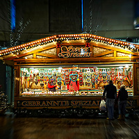 Snow at Glasgow & The German Market