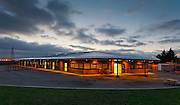 West Thurrock Primary School at Dusk, designed by Atkins Education Architects