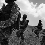 Yemen Boosts Counter-Terrorism/Security Forces (B&W)