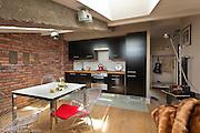 Attic apartment in Krakow Poland . Interior photography by Piotr Gesicki