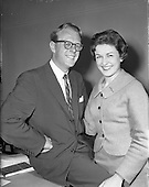 1959 - Mr C. McGaley engaged to C. Fitzpatrick both of Irish Shell