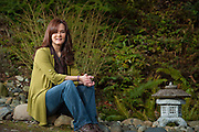 2012 February 02 - Laura Daniel, reiki practitioner, at her home in Kent, WA, USA. Photo by Richard Walker