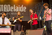 Bokante performing at Womadelaide 2017 Music Festival held between 10 - 13 March 2017 in Adelaide, South Australia