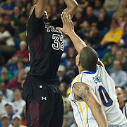 12/30/11 Newark DE: Temple Junior Forward #32 Rahlir Hollis-Jefferson drains a deep two during a NCAA basketball game against Delaware Friday, Dec. 30, 2011 at the Bob carpenter center in Newark Delaware...Rahlir Jefferson-Hollis led the Owls with 13 points and eight rebounds, Anthony Lee added a career-high 12 points, seven rebounds, and three blocks, Juan Fernandez contributed 11 points, and Ramone Moore chipped in with 10 points and a game-high six assists.