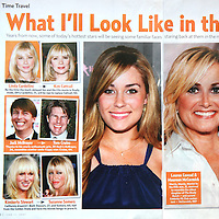 Jun 11, 2007 - Los Angeles, CA, USA - In this US Weekly June 11, 2007 issue they featured my photo of Lauren Conrad from the MTV hit series 'The Hills' half page in a feature about what stars will look like in the future. .(Credit Image: © Marianna Day Massey/ZUMA Press)