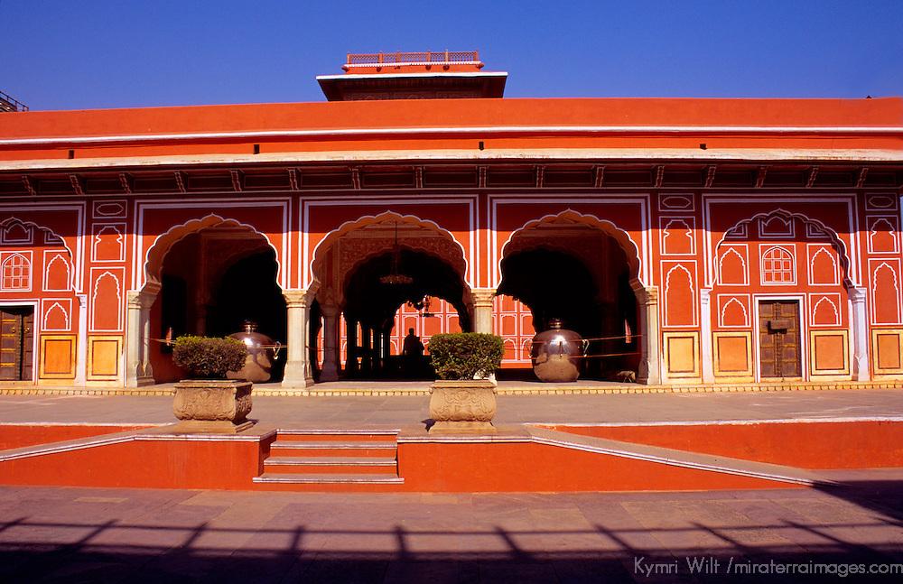 Asia, India, Rajasthan, Jaipur. Jaipur Pink Palace
