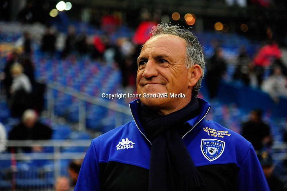 Ghislain PRINTANT    - 11.04.2015 -  Bastia / PSG - Finale de la Coupe de la Ligue 2015<br />Photo : Dave Winter / Icon Sport