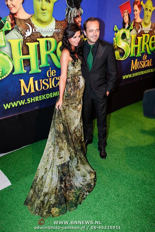 NLD/Amsterdam/20121104 - Premiere Shrek de musical, Geert Hoes en ...............
