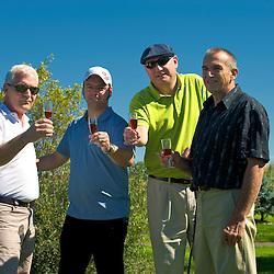 Tournoi de golf du Complex Super 8, Ste-Therese, Qc. Au Club de Golf Le Versant, Terrebonne, Qc.