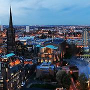 Coventry panoramic city skyline