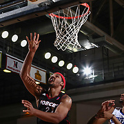 Sioux Falls Skyforce Forward JARNELL STOKES (21) drives towards the basket for a high percentage lay-up in the second half of a NBA D-league regular season basketball game between the Delaware 87ers and the Sioux Falls Skyforce Friday, Mar. 25, 2016, at The Bob Carpenter Sports Convocation Center in Newark, DEL.