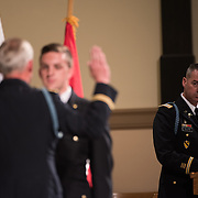 ROTC Commissioning Ceremony at St. Aloysius Church. (Gonzaga Photo)