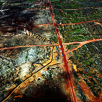KEPPI , APRIL 30 2007: A view of a destroyed area  of  the rainforest near Tamena in southern Papua . In Southern Papua the forest stretches over an area of 15 million hectar.  Logging is one of the major causes of environmental destruction in West Papua. As Indonesia's own forest resources decline, it has turned its attention to West Papua. Indonesia's forest practices generally have little or no attention paid to the environmental impact of logging. Many of the indigenous people of West Papua are threatened as vast tracts of land have been granted as concessions to timber companies, a practice which is having severe social and physical consequences. .. The island of New Guinea is one of the most biologically diverse in the world. There are species of flora and fauna in common with Australia, such as some marsupials, the bird of paradise and eucalyptus trees. Numerous species, unique to the island, are threatened by logging and other development projects. .. Second only to the Amazon, the island of New Guinea has one of the largest tracts of tropical rainforest left in the world. West Papua's forests, rich in bio-diversity, account for approximately 34.6 million hectares or 24 per cent of Indonesia's total forested area of 143 million hectares. Over 27.6 million hectares of forest in West Papua have been designated as production forest.