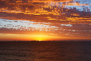 Sunset Ships CB119 Cottesloe Beach  Terry Lyon Photography