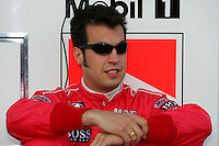 Sam Hornish Jr. at the Texas Motor Speedway, Bombardier Learjet 500, June 11, 2005