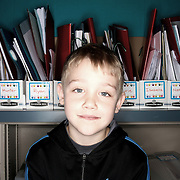 Evan Estes. Casey Brennan's kindergarten class at Hopkins Elementary School in Sherwood on Wednesday, May 23, 2012.