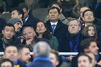 can - 21.12.2016 - Milano - Serie A 2016/17 - 18a giornata  -  Inter-Lazio nella  foto: Jindong Zhang, presidente di Suning Commerce Group