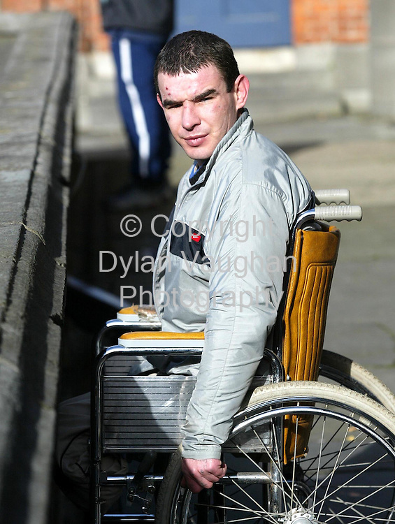 12/2/2002 .Paul Barry pictured outside Kilkenny Court..Picture Dylan Vaughan