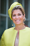 AMSTERDAM Queen Maxima of the Netherlands opens the museum Micropia in Amsterdam, The Netherlands, 30 September 2014. This new museum displays the invisible world of micro-organism. Micropia wants to be a connective platform between scientific knowledge and the public, and will offer congresses, and public information as well as lectures detailing what we know about microscopic organisms. COPYRIGHT ROBIN UTRECHT