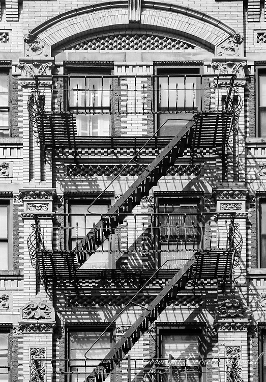 Fire Escape New York City 1940s : Nyc fire escapes cornelis verwaal photography
