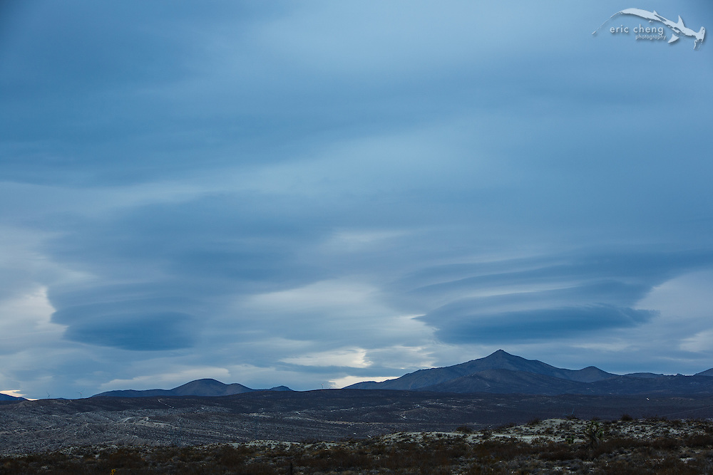 Somewhere between Death Valley and Lone Pine, we spotted these incredible cloud formations as the sun was setting.