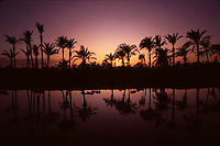 Canal at sunset near El Fayoum, Egypt - © Owen Franken