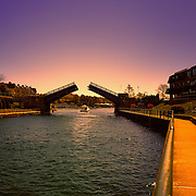 &quot;Evening in Charlevoix&quot;<br /> Enjoy a beautiful sunset walk in Charlevoix Michigan, watching the drawbridge open!