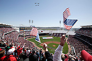 Opening day -- Great American Ballpark, Cincinnati, OH