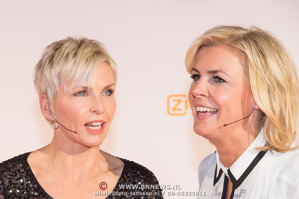 NLD/Amsterdam/20140303 - Uitreiking TV Beelden 2014, Anita Witzier en Irene Moors