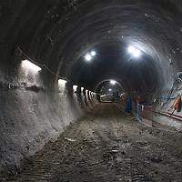 Crossrail proyecto en Londres  construido por la empresa española Ferrovial.