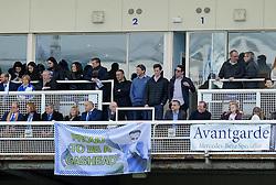 Mayor George Ferguson was a guest of Bristol Rovers president, Wael Al-Qadi - Mandatory byline: Neil Brookman/JMP - 12/03/2016 - FOOTBALL - Memorial Stadium - Bristol, England - Bristol Rovers v Mansfield Town - Sky Bet League Two