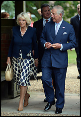 JULY 30 2013 Prince of Wales & Duchess of Cornwall Church service