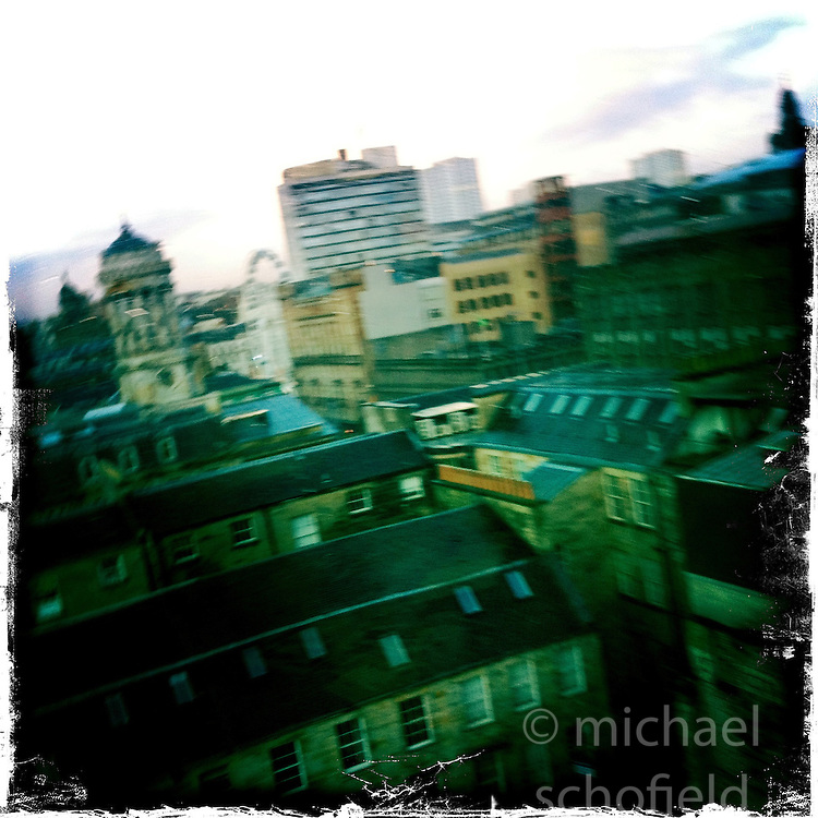 Glasgow..Hipstamatic images taken on an Apple iPhone..©Michael Schofield.