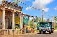 Russian truck in Pinar del Rio, Cuba.