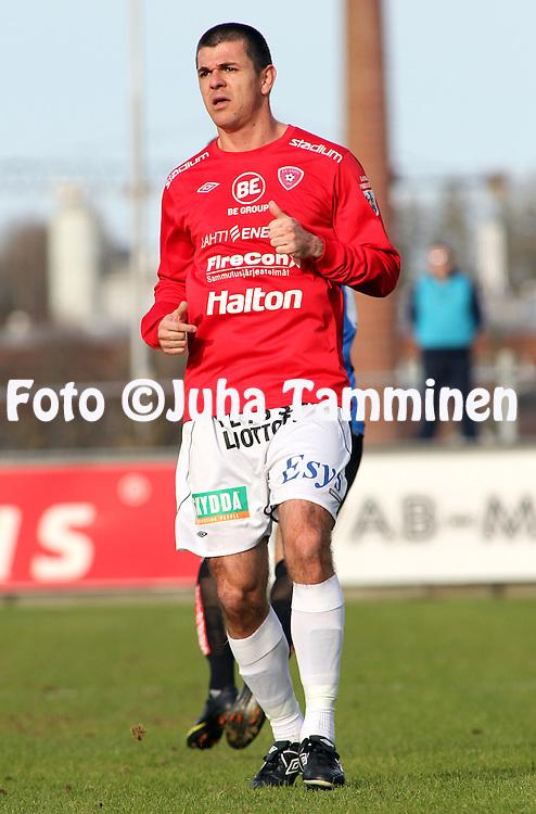 03.05.2010, Kupittaa, Turku..Veikkausliiga 2010, FC Inter Turku - FC Lahti..Rafael Pires Vieira - FC Lahti.©Juha Tamminen.