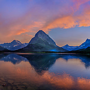 Swiftcurrent Lake, Glacier National Park, MT.