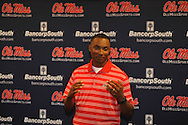 Brian O'Neal was named the new track coach at Ole Miss during a press conference in Oxford, Miss. on Tuesday, June 12, 2012.