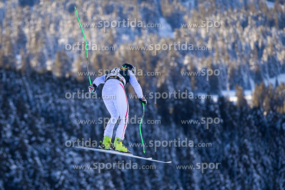 12.12.2012, Sasslong, Groeden, ITA, FIS Weltcup, Ski Alpin, Abfahrt, Herren, 1. Training, im Bild Markus Duerager (AUT) // Markus Duerager of Austria in action during downhill 1st practice run of the FIS Ski Alpine Worldcup at Sasslong course, Groeden, Italy on 2012/12/12. EXPA Pictures © 2012, PhotoCredit: EXPA/ Johann Groder