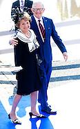 25-4-2014 DE RIJP - The first kings day of King Willem alexander and Queen maxima in the Rijp and Amstelveen . With Princess beatrix  , Pieter van Vollenhoven Princess Margriet Prince Constantijn Princess Laurentien  COPYRIGHT ROBIN UTRECHT