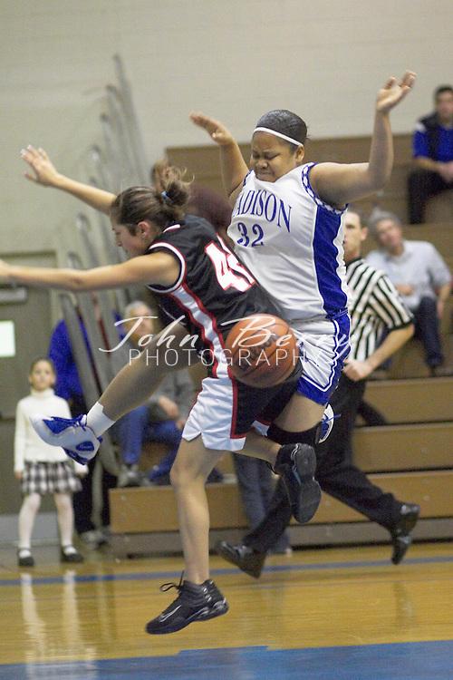 JV Girls Basketball..vs George Mason..January 6, 2005